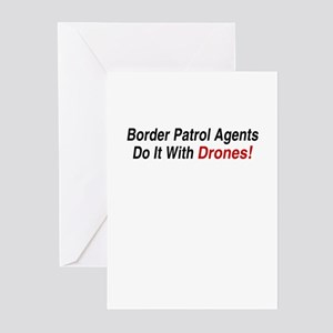 Border Patrol Agents -  Greeting Cards (Package of