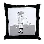 Bad at Sports Throw Pillow