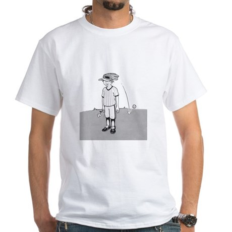 Bad at Sports White T-Shirt