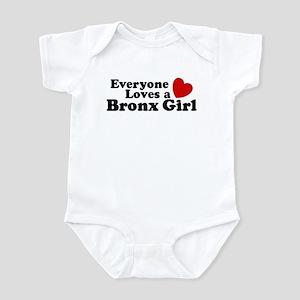 Everyone Loves a Bronx Girl Infant Bodysuit