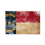 North Carolina Flag Rectangle Magnet (10 pack)