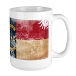 North Carolina Flag Large Mug