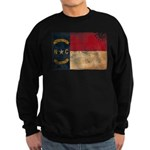 North Carolina Flag Sweatshirt (dark)