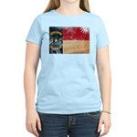 North Carolina Flag Women's Light T-Shirt