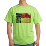 North Carolina Flag Green T-Shirt