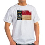 North Carolina Flag Light T-Shirt