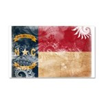 North Carolina Flag Car Magnet 20 x 12