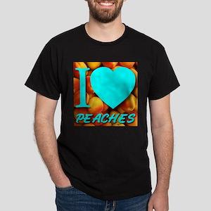 I (Heart) Peaches Dark T-Shirt