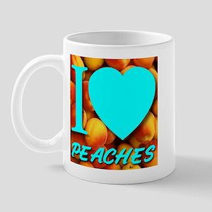 I (Heart) Peaches Mug