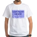 Flight Pillows White T-Shirt