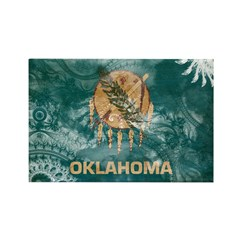 Oklahoma Flag Rectangle Magnet (10 pack)