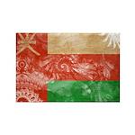 Oman Flag Rectangle Magnet (10 pack)