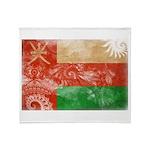 Oman Flag Throw Blanket