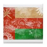 Oman Flag Tile Coaster