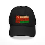 Oman Flag Black Cap
