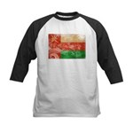 Oman Flag Kids Baseball Jersey
