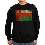 Oman Flag Sweatshirt (dark)