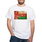 Oman Flag White T-Shirt