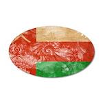 Oman Flag 22x14 Oval Wall Peel