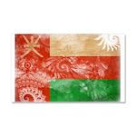 Oman Flag Car Magnet 20 x 12