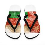 Oman Flag Flip Flops