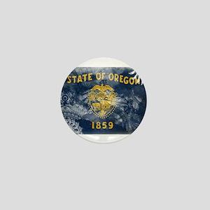 Oregon Flag Mini Button