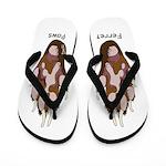 Flip Flops Ferret Paws