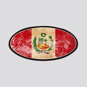 Peru Flag Patches