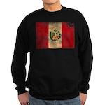 Peru Flag Sweatshirt (dark)