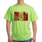 Peru Flag Green T-Shirt