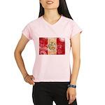Peru Flag Performance Dry T-Shirt