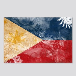 Philippines Flag Postcards (Package of 8)