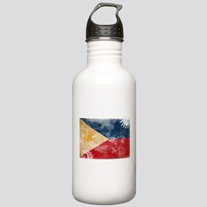 Philippines Flag Stainless Water Bottle 1.0L
