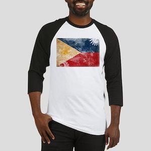 Philippines Flag Baseball Jersey