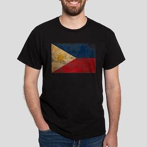 Philippines Flag Dark T-Shirt