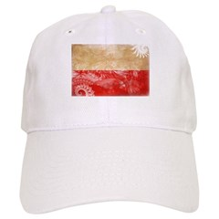 Poland Flag Baseball Cap