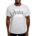 Bad at Sports Ash Grey T-Shirt