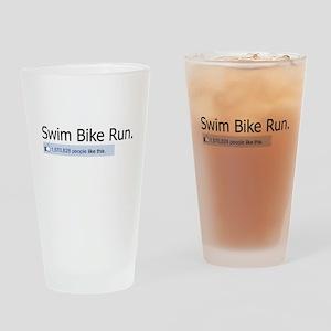 People like Swim Bike Run Drinking Glass