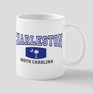 Charleston South Carolina, SC, Palmetto Flag Mug