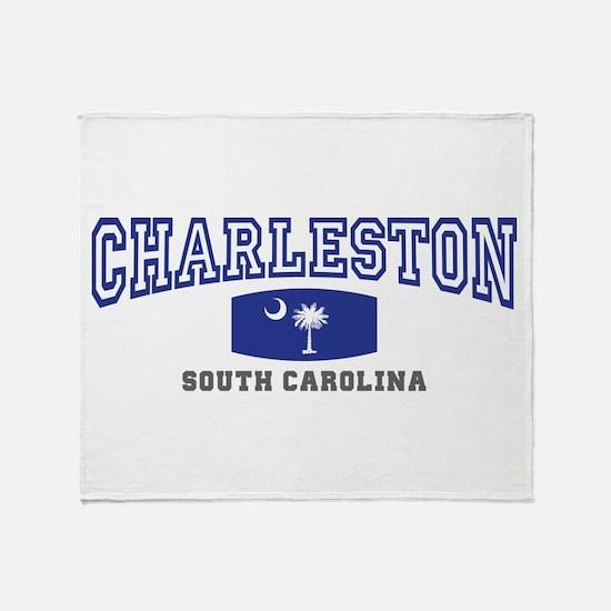 Charleston South Carolina, SC, Palmetto Flag Stad