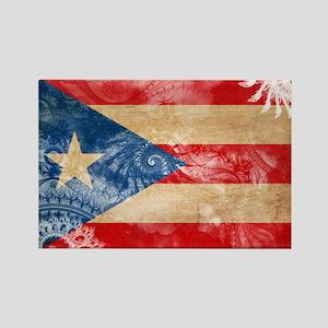 Puerto Rico Flag Rectangle Magnet