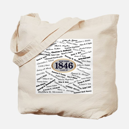 West Point Graduates of 1846 Tote Bag