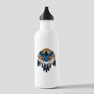 Steller's Jay Dreamcatcher Mandala Stainless Water