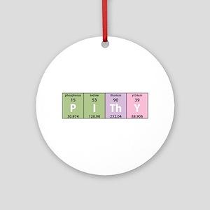 Chemistry Pithy Ornament (Round)