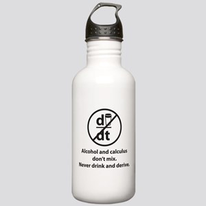 Never drink and derive Stainless Water Bottle 1.0L