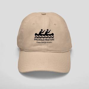 Paddle Faster I Hear Banjo Music Cap