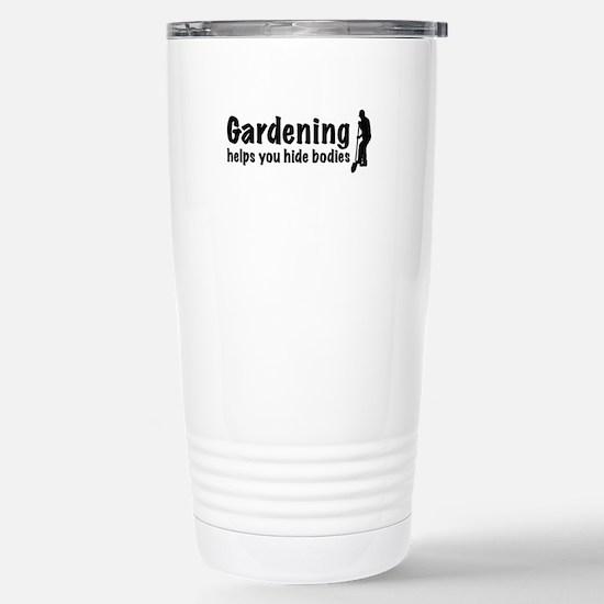 Gardening Stainless Steel Travel Mug