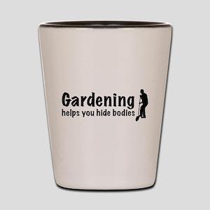 Gardening Shot Glass