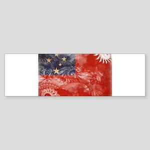 Samoa Flag Sticker (Bumper)
