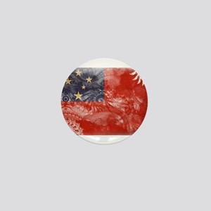 Samoa Flag Mini Button